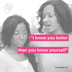 'I know you better than you know yourself'